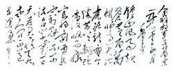 成忠臣书法《人民解放军占领南京》