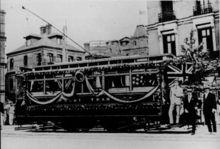 旧上海的有轨电车