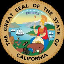 美国加州州徽